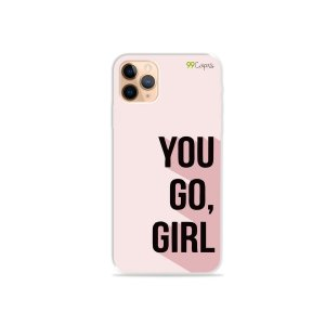 Capa para iPhone 11 Pro Max - You Go, Girl