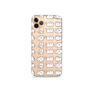 Capa para iPhone 11 Pro Max - Lazy Cat