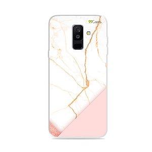 Capa para Galaxy A6 Plus - Marble