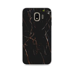 Capa para Galaxy J4 2018 - Marble Black