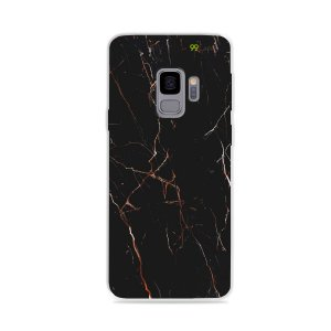 Capa para Galaxy S9 - Marble Black