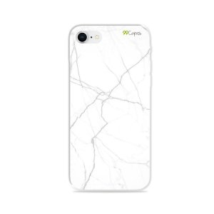 Capa para iPhone 8 - Marble White