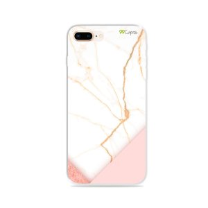 Capa para iPhone 8 Plus - Marble