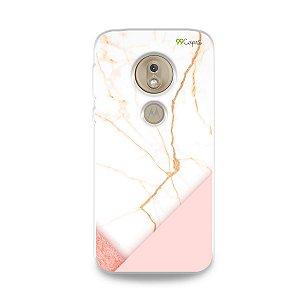 Capa para Moto G7 Play - Marble