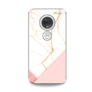 Capa para Moto G7 Plus - Marble