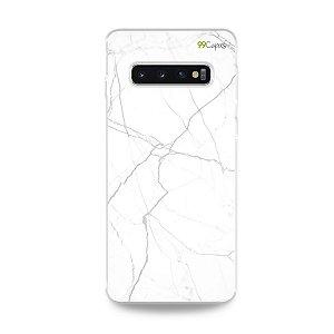 Capa para Galaxy S10 Plus - Marble White