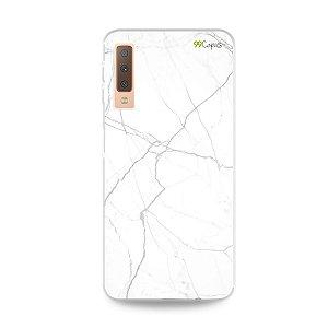 Capa para Galaxy A7 2018 - Marble White