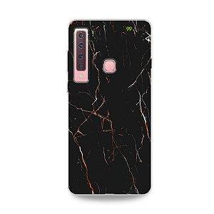 Capa para Galaxy A9 2018 - Marble Black