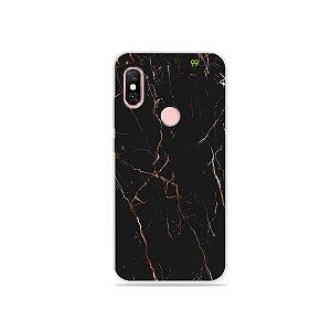 Capa para Xiaomi Redmi Note 6 Pro - Marble Black