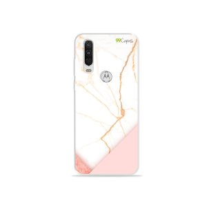 Capa para Moto One Action - Marble