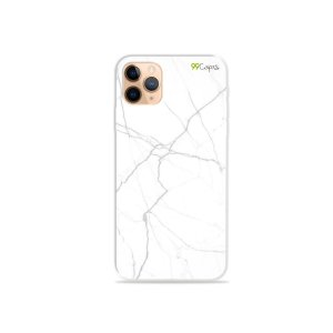 Capa para iPhone 11 Pro - Marble White