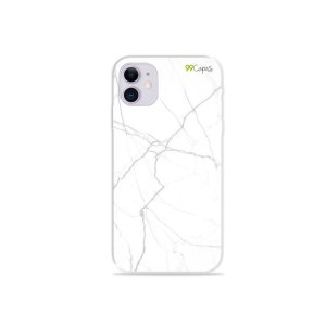 Capa para iPhone 11 - Marble White