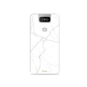 Capa para Zenfone 6 - Marble White