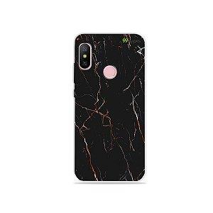 Capa para Xiaomi Redmi Note 6 - Marble Black