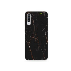 Capa para Galaxy A70 - Marble Black
