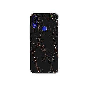 Capa para Xiaomi Redmi Note 7 - Marble Black