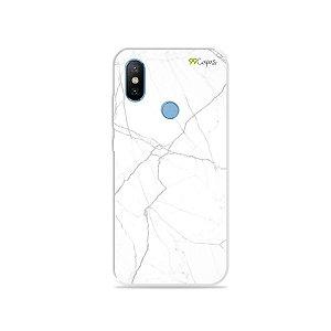 Capa para Xiaomi Mi 8 - Marble White