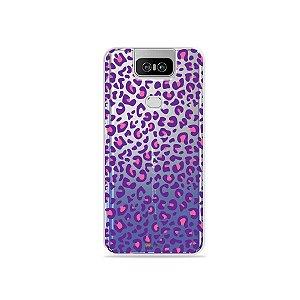 Capa para Zenfone 6 - Animal Print Purple
