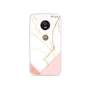 Capa para Moto G5 - Marble