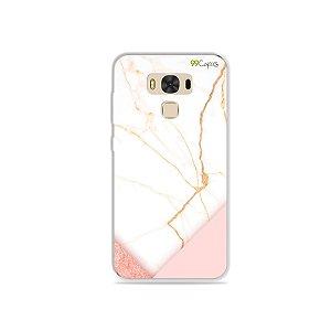 Capa para Zenfone 3 Max - 5.5 Polegadas - Marble