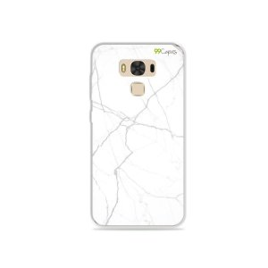 Capa para Zenfone 3 Max - 5.5 Polegadas - Marble White