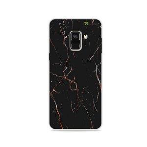 Capa para Galaxy A8 2018 - Marble Black