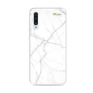 Capa para Galaxy A50 - Marble White