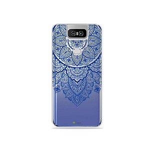 Capa para Zenfone 6 - Mandala Azul