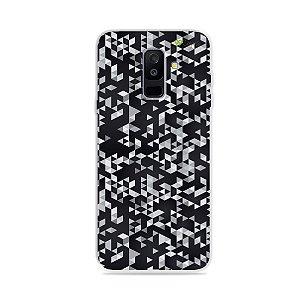 Capa para Galaxy A6 Plus - Geométrica