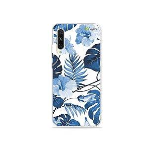 Capa para Xiaomi Mi A3 - Flowers in Blue