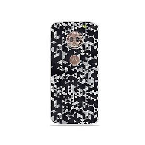 Capa para Moto G6 - Geométrica