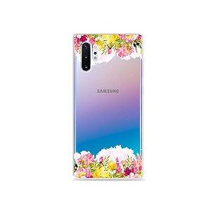 Capa para Galaxy Note 10 - Botânica