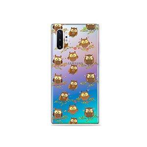 Capa para Galaxy Note 10 - Corujinhas
