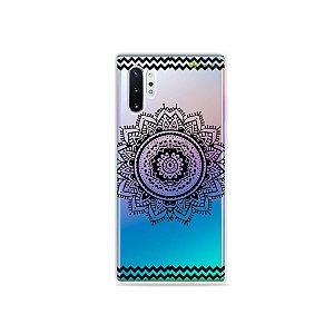 Capa para Galaxy Note 10 - Mandala Preta