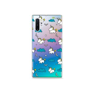 Capa para Galaxy Note 10 - Unicórnios