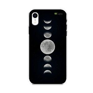 Capa para iPhone XR - Fases da Lua
