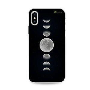 Capa para iPhone X/XS - Fases da Lua