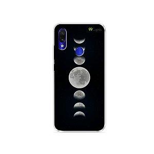 Capa para Xiaomi Redmi Note 7 - Fases da Lua