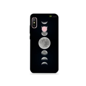 Capa para Xiaomi Redmi Note 6 - Fases da Lua