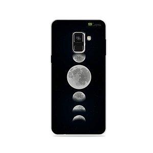 Capa para Galaxy A8 2018 - Fases da Lua