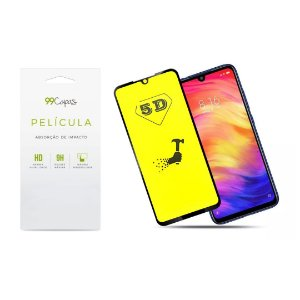 Película de Gel 5D (flexível) para Xiaomi Redmi Note 7 - 99Capas