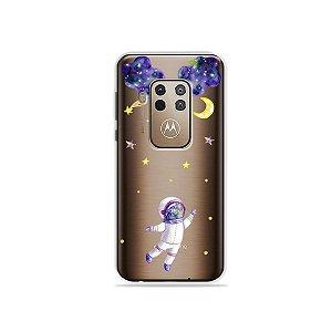Capa para Moto One Zoom - Astronauta Sonhador