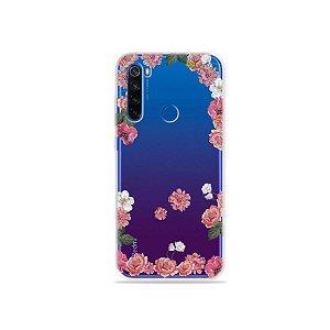 Capa para Xiaomi Redmi Note 8T - Pink Roses