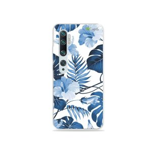 Capa para Xiaomi Mi Note 10 - Flowers in Blue