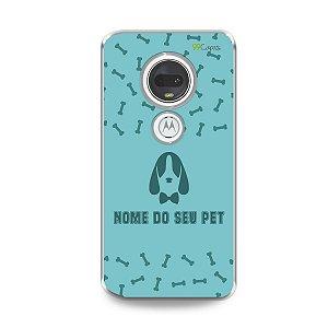 Capa My Pet Blue com nome personalizado - 99Capas