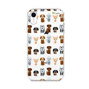 Capa para iPhone XR - Doguinhos