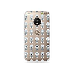Capa para Moto G5 Plus - Poodle