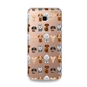 Capa para Galaxy J4 Plus - Doguinhos