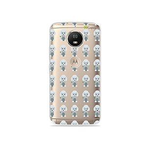 Capa para Moto G5S - Poodle