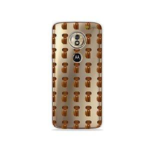 Capa para Moto G6 Play - Golden